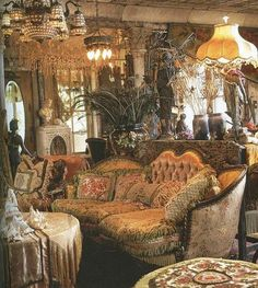 victorian beauty (Sarah, it looks like they went over to Grandma's house and took a picture of her living room!)