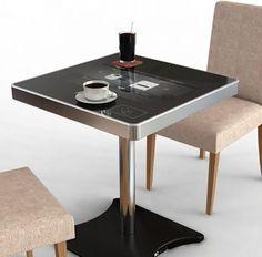 Una mesa especial, que hasta te cobra el almuerzo