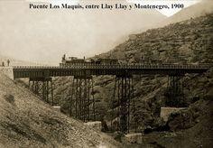 Imágenes de Chile del 1900: Llay Llay Montenegro, Railroad Tracks, South America, Past, World, Style, Historical Photos, Bridges, Antique Photos