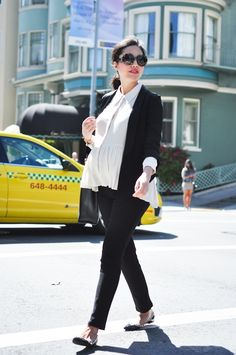 Day to Night Part II - 9to5Chic - Maternity Style Inspiration