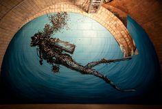 Los impresionantes murales de DALeast < Choosa.net