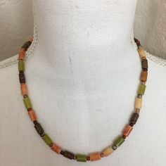 Soy Sauce Noodles, Multi Coloured Necklaces, Product Description, Beaded Necklace, Jewelry, Fashion, Beaded Collar, Moda, Jewlery