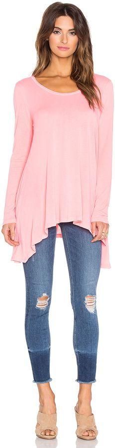 Splendid Vintage Whisper Long Sleeve Flowy Tee