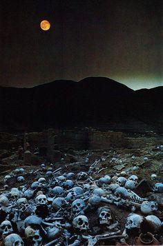 Разграбленное кладбище инков