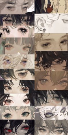 Comic Eyes, Digital Art Tutorial, Digital Painting Tutorials, Concept Art Tutorial, Pretty Art, Cute Art, Dessin Animé Lolirock, Anime Drawings Sketches, Hipster Drawings