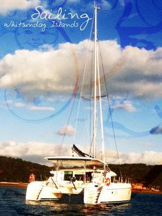 2-week sailing excursion around the Whitsunday Islands in Queesnland, Australia. Yacht: Lagoon 420 catamaran. One of my favorite trips