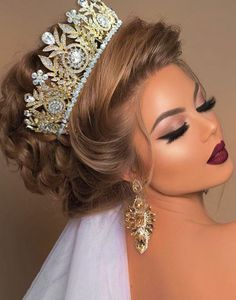 Die 10 besten hellen Frisuren (in der Welt) - Wedding Makeup For Fair Skin Easy Hairstyles For Medium Hair, Medium Hair Styles, Natural Hair Styles, Short Hair Styles, Wedding Makeup Looks, Bridal Makeup, Bridal Hair, Hair Wedding, Wedding Nails