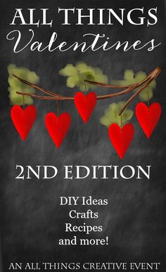 All Things Valentines 2nd Edition |100 awesome links! | onsuttonplace.com