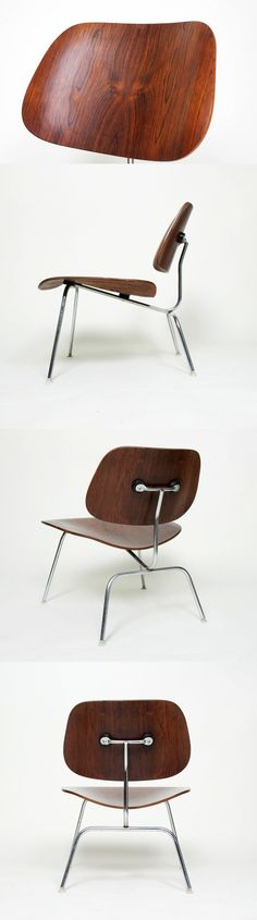 In the 1960s, you could get your favorite Eames Molded Plywood Chair, the vintage LCM in this instance, in Brazilian Rosewood.  Now #Eames partners @hermanmiller and @vitra use contemporary woods --sustainable, premium woods