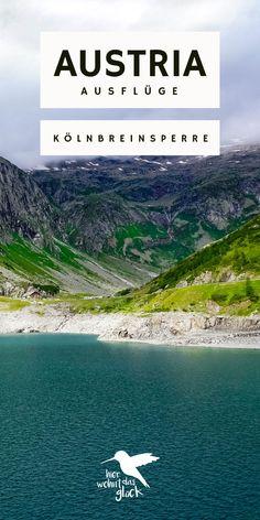 Kölnbreinsperre & Malta Hochalmstraße: mit ihren 200 Metern Höhe ist die Kölnbreinsperre in den Hohen Tauern die höchste Staumauer Österreichs und damit ein perfektes Ausflugsziel in Kärnten. Doch das ist nicht der einzige Grund, warum sich ein Ausflug dorthin lohnt. Mehr Informationen findet ihr auf unserem Blog. #kölnbreinsperre #austria #kärnten # ausflügeinösterreich #ausflügeinkärnten Malta, Outdoor, River, Mountains, Nature, Europe Travel Tips, Places To Visit, Round Trip, Outdoors
