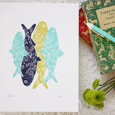 """Image of """"The Smell Of The Sea"""" Limited Edition Print from Bespoke Press #lifeinstyle #greenwithenvy"""