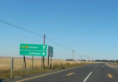 Dutch city names in South Africa: named so as a lack of creativity or just homesick? The road from Johannesburg to Swaziland. Roads, South Africa, Dutch, Road Trip, Creativity, Names, Signs, City, Road Routes