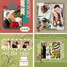 Wedding Cut The Cake. Hardcover books. Do you have an abundance of digital pictures? Want to capture your story in a scrapbook? Just not enough time to do it all? Have Memories Marketplace do it for you!