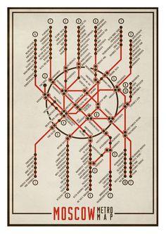 Items similar to Large illustration print x Moscow Metro Map. (Special SPRING offer: Get a poster for free) on Etsy Metro Rail Map, Metro Map, Underground Map, Moscow Metro, Navigation Design, Presentation Styles, Schematic Design, City Drawing, Subway Map