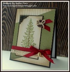 Heather Prince - Princess Scrapper Stamper: Rustic Christmas