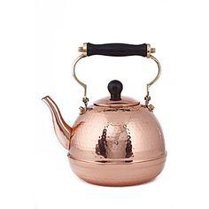 hammered copper tea kettle @Dakota Stuart Stuart Link