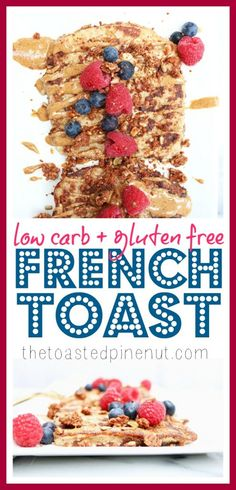 The most delicious Cinnamon French Toast that's low carb and gluten free!! Nothing like a guilt-free indulgent breakfast that gets everyone excited!!