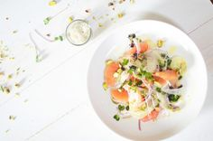 Fennel, orange and pistachio salad