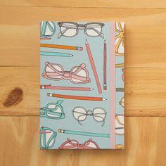 Sketchbook Óculos Vintage