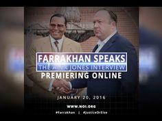 Minister Farrakhan - Alex Jones Interview (Full Version) - YouTube