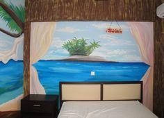 Beach wall art - wall no2 Τοιχογραφίες δωματίων www.wallinart.gr