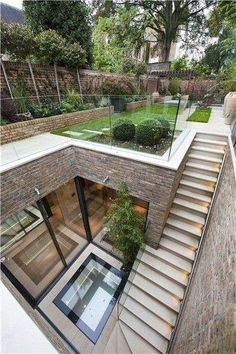 landscape architecture design Five bedroom terraced new house in South End, London - off High Street Kensington - listed on Zoopla for Amazing Architecture, Landscape Architecture, Interior Architecture, Sustainable Architecture, Residential Architecture, Landscape Design, Seattle Architecture, Contemporary Architecture, Brand Architecture