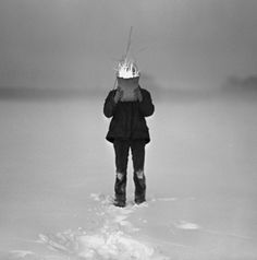 Adam Panczuk Karczeby In one of the dialects spoken in the east of Poland, which is a mixture of Polish and Belorussian, people strongly attached to the soil they had been cultivating for ge… Snow Art, Pagan, Traditional, Landscape, Photography, Portraits, Farmers, Polish, Ice