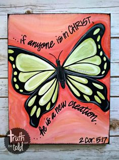 A Truth Be Told Art Paint Party is for all generations! Paint something beautiful with God's Truth on it - even if you can't draw a stick figure. Bible Verse Painting, Bible Verse Canvas, Easy Canvas Painting, Scripture Art, Bible Art, Watercolour Painting, Body Painting, Watercolors, Christian Canvas Paintings