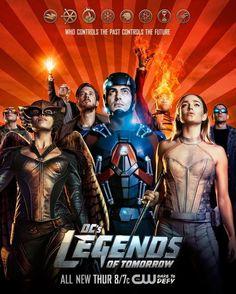Legends of Tomorrow - Liberado novo pôster incrível da série! - Legião dos Heróis