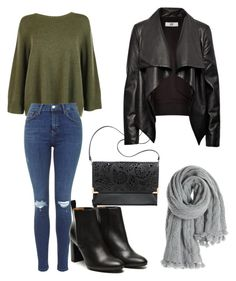 """""""Outwear#25"""" by elusiin ❤ liked on Polyvore featuring The Row, Stephane Kélian, Calypso St. Barth, H&M and HIDE"""