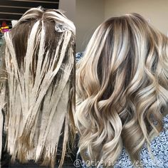 "1,157 Likes, 32 Comments - Balayage❄️Blonde | Detroit (@catherinelovescolor) on Instagram: ""Leave dimension in the hair it's beautiful ...light and dark play off each other⚫️⚪️! When I first…"""