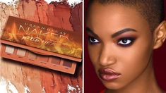 Urban Decay is blessing us with a brand new mini Naked Heat palette! Say hello to the Naked Petite palette ($29)  Of course, the new compact is inspired by the original Naked Heat Palette ($54, Sephora), but this petite version has five ALL NEW eyeshadow shades plus one demi-matte highlighting shade.  Shades from left to right: Inhale (cream demi-matte), Vibrate (soft nude matte), Hot Spell (terra-cotta matte), Wild Thing (scorched-orange matte), Heist (rich cayenne matte), and Strike.