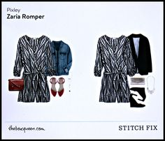 Stitch Fix October Review - Gorgeous long sleeve romper with beautiful design