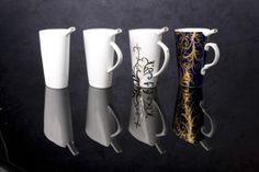 Lázeňský pohárek Kala, Štěpán Kuklík, cup, spa, wells, health, zdroj: www.imperial-group.cz #design #czechdesign