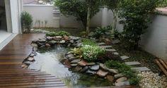 Le bassin de jardin, un petit coin de fraîcheur et détente à l'extérieur ponctué par le clapotis de l'eau. Une déco extérieure apaisante à souhait qui donnera du charme.Publié le 09/09/2016Si vous avez la chance d'avoir un grand jardin, n'hésitez pas à vous offrir un joli bassin dans leque