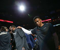 Oklahoma City's Russell Westbrook (0) with the team huddle before an NBA basketball game between the Oklahoma City Thunder and the Los Angeles Clippers at Chesapeake Energy Arena in Oklahoma City, Friday, March 16, 2018. Photo by Nate Billings, The Oklahoman
