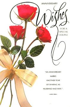 happy annivarsary wishes | Happy Wedding Anniversary Ecards Wishes -- Best Wishes
