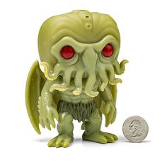 Cthulhu Glow-in-the-Dark Vinyl Figure H.P. Lovecraft Welcomes To Destroy Your World -  #cthulhu #funko #glow