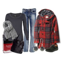 """Fall Plaid #2"" by ljjenness on Polyvore"