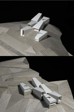 ARCHEOLOGICAL MUSEUM IN FOZ-COA. PORTUGAL. COMPETITION