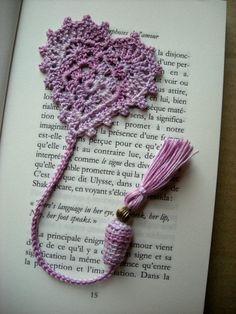 Valentine bookmark - Le blog de marjolaine