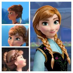 anna hair frozen more hair ideas hair 3 hair mak anna hair frozen    Anna Frozen Hair Up