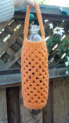 Bottle Buddy PDF crochet pattern