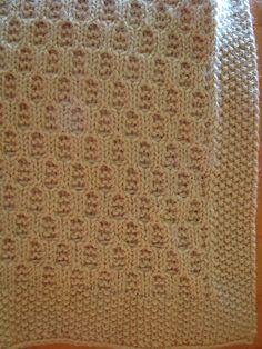 Ravelry: As Sweet As Honey Baby Blanket pattern by Anjali M