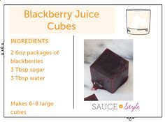 Cocktail DIY: Fresh Fruit Juice Cubes