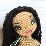 "43 Likes, 5 Comments - Kindabam Crochet (@kindabam_crochet) on Instagram: ""Visit my Etsy store for your pattern / photo tutorial to make your very own cheeky doll.  PDF…"""