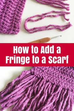 How to Add a Fringe