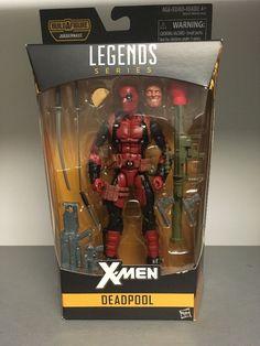 ACTION FIGURE ~ X-MEN 2016 ~ IN STOCK Marvel Legends ~ DEADPOOL WADE WILSON