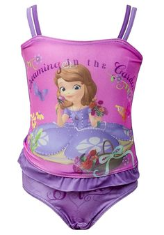 Disney Sofia Dream Purple Tankini Swimsuit New Arrivals...Girls Swimsuits, Disney, Hello Kitty & More. Get 20% off on your shopping at www.Klassywear.com