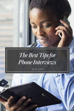 Everything you need to know before your phone #interview! #Jobsearch www.levo.com